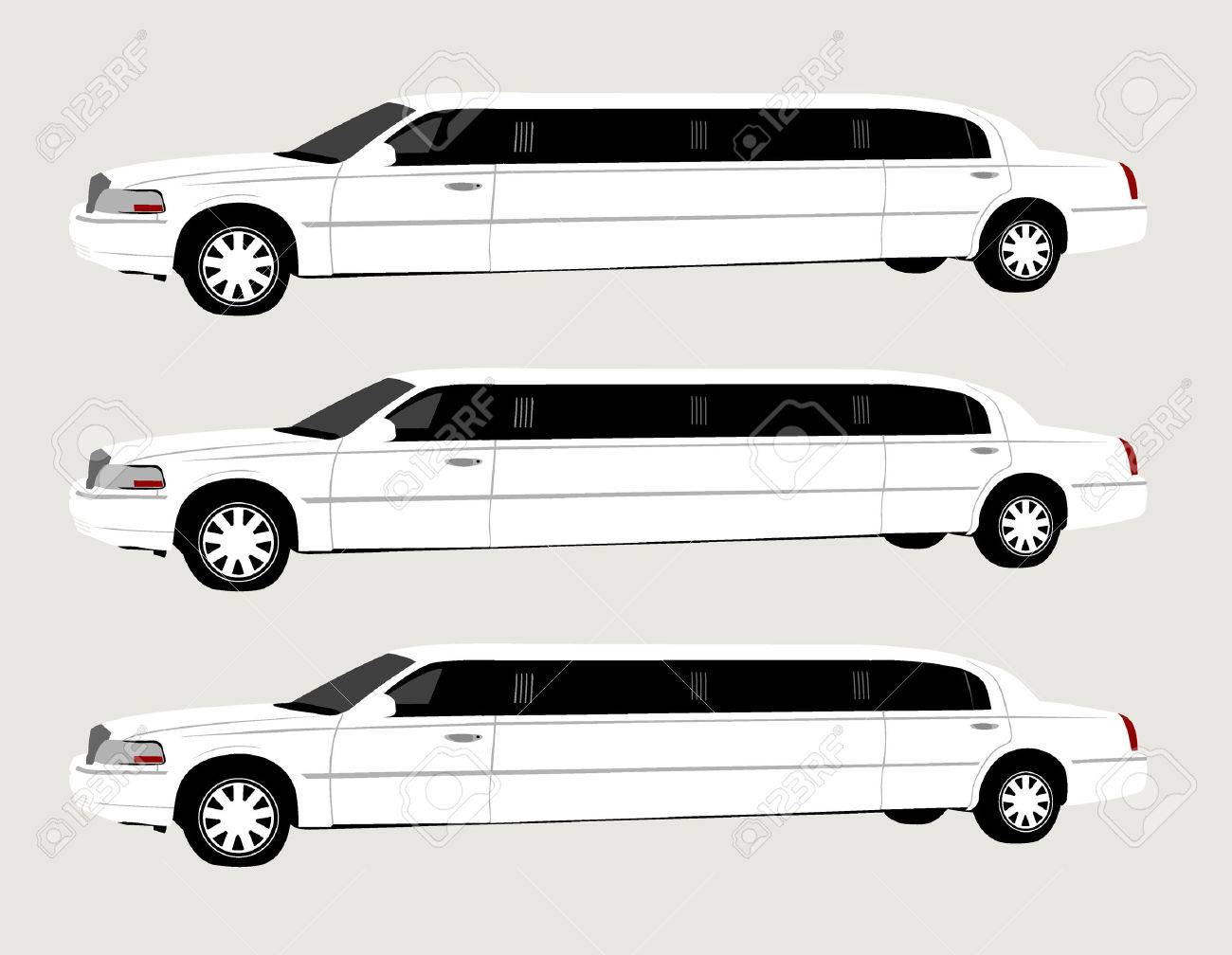 Limo Royalty Free Cliparts, Vectors, And Stock Illustration. Image ...