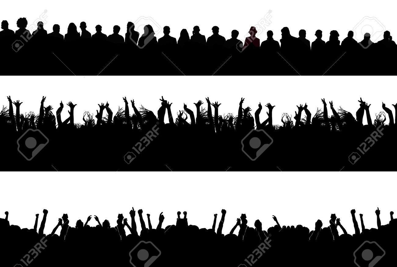 silhouettes Stock Vector - 4648256