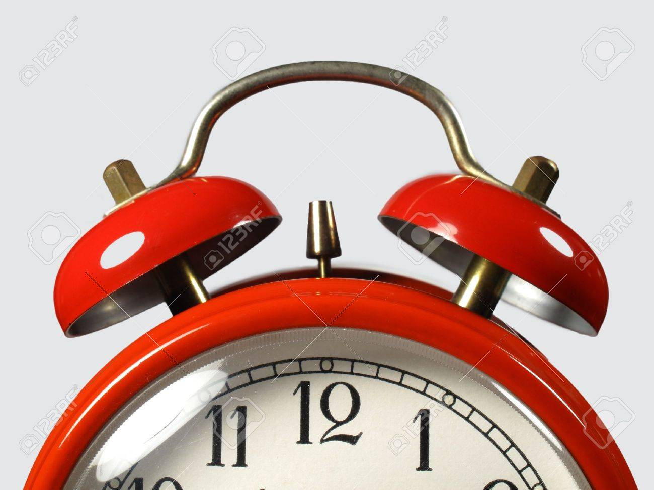 Alarm clock in the foreground Stock Photo - 9334609