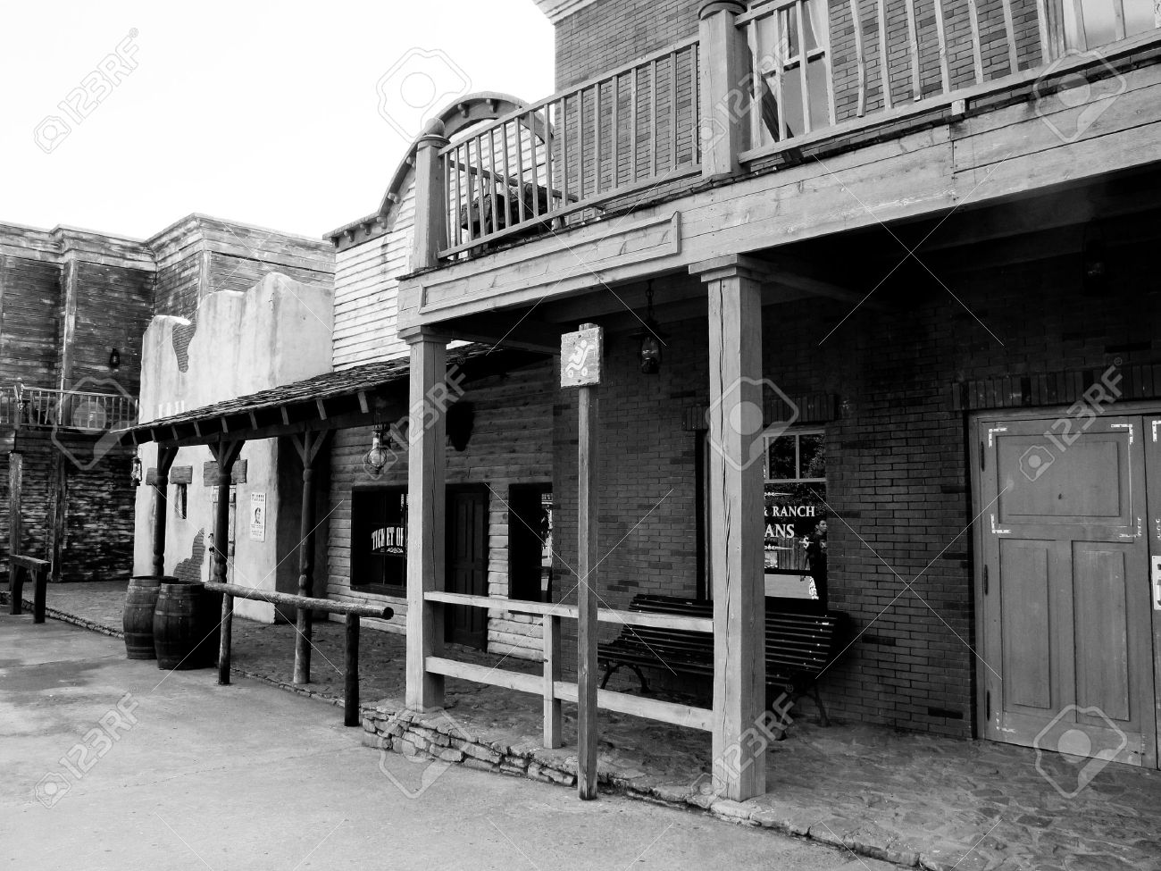 houses of the old west Stock Photo - 12298820