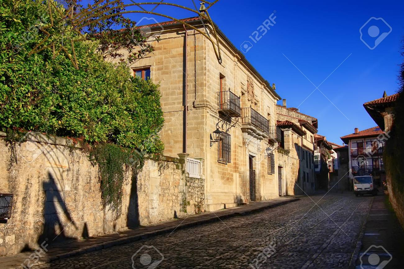 typical houses of a small town Stock Photo - 22656803