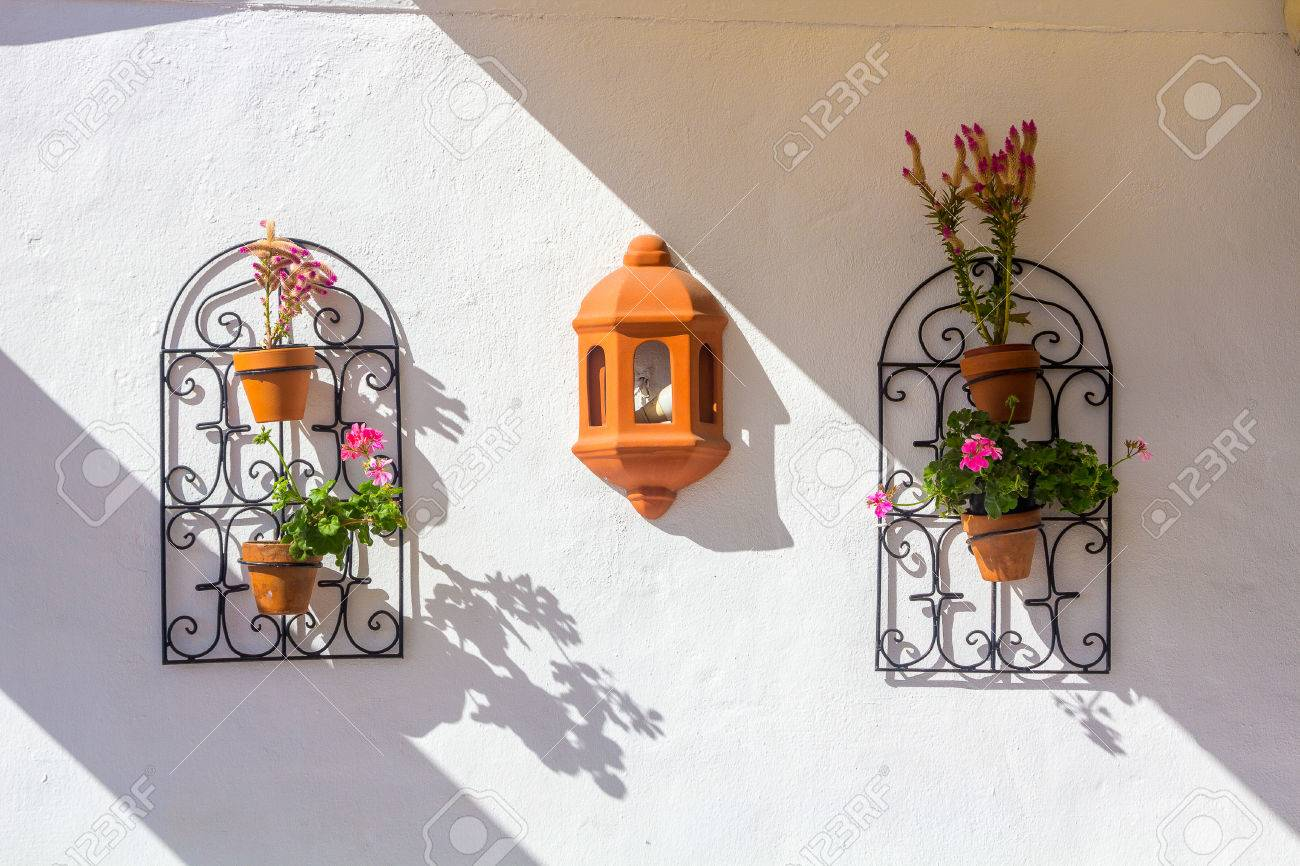 Andalusian Decorative Items For Window And Wall Railings Flower