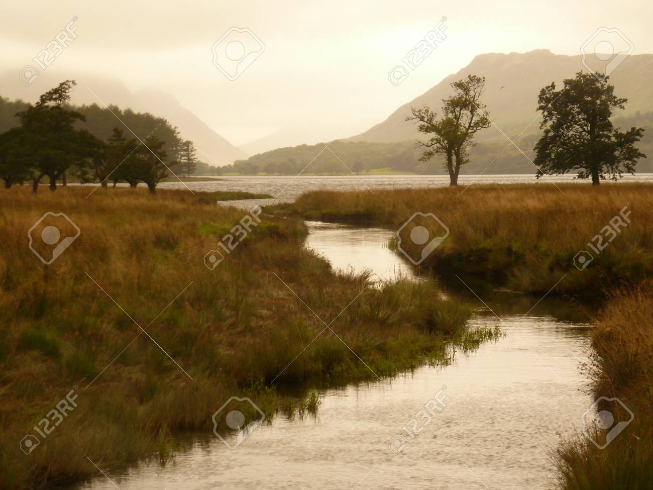 Warnscale Beck, Buttermere Stock Photo - 22615519