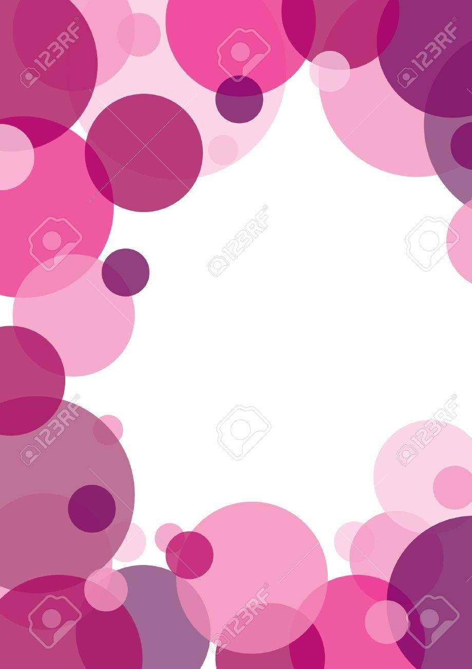 pink circle background - 7619140