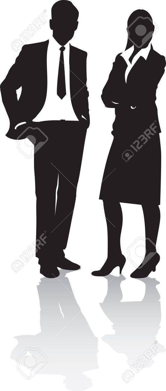 business people Stock Vector - 7660562