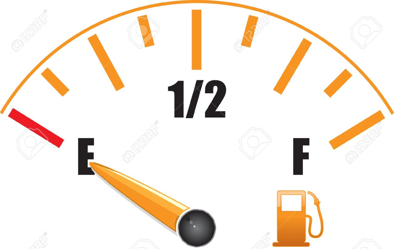 Fuel Gauge Symbol a fuel gauge with symbol  gas