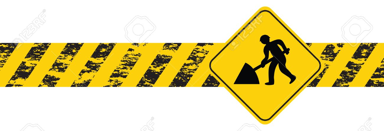 construction banner Stock Vector - 7896261