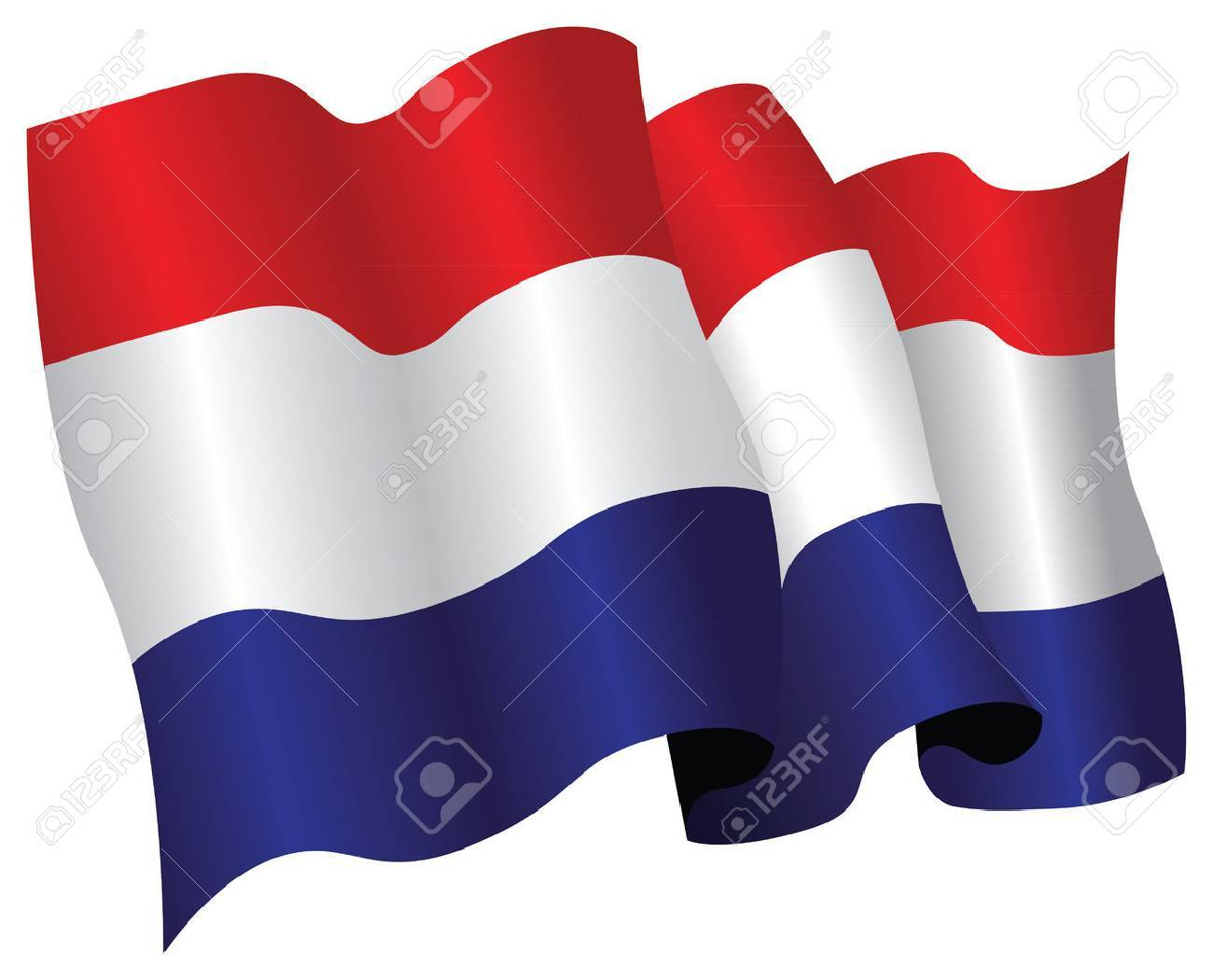 netherlands flag Stock Vector - 8509287