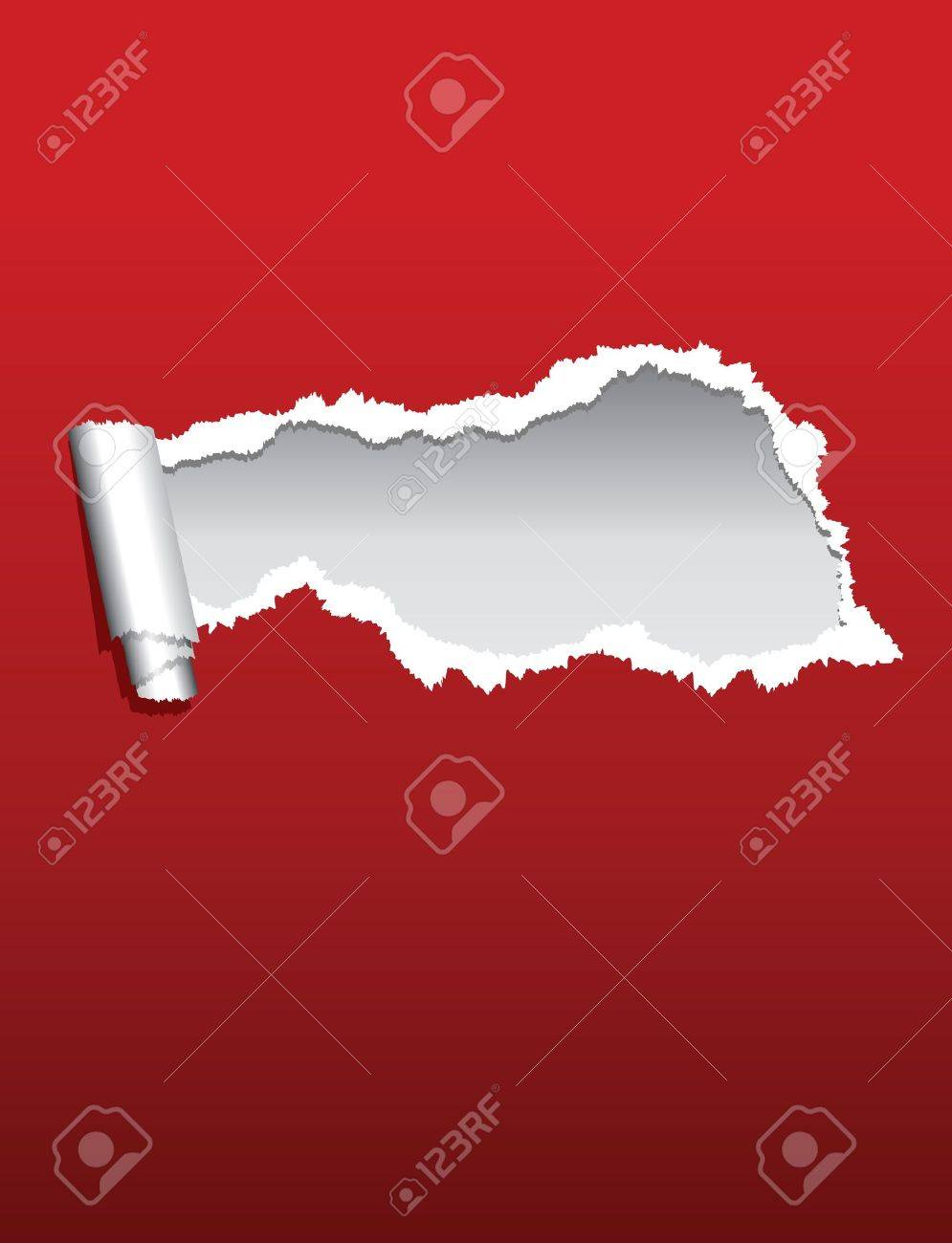 torn paper background Stock Vector - 9452189