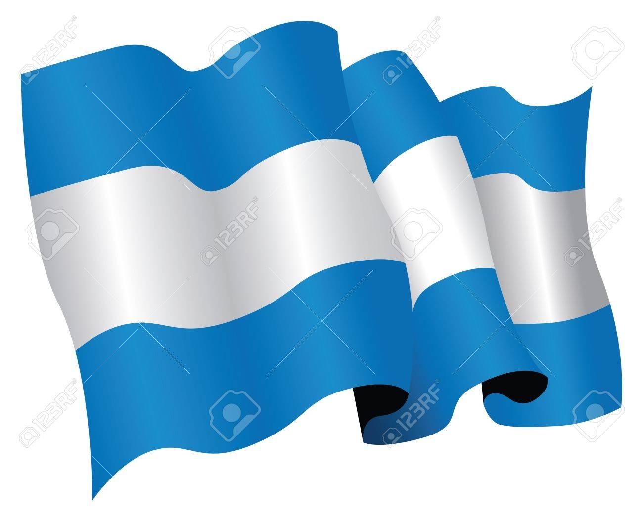 argentina flag Stock Vector - 9646005