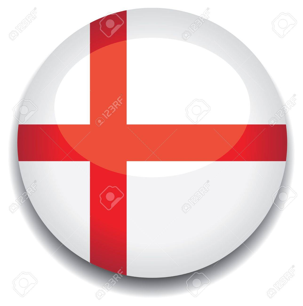 england flag in a button royalty free cliparts vectors and stock