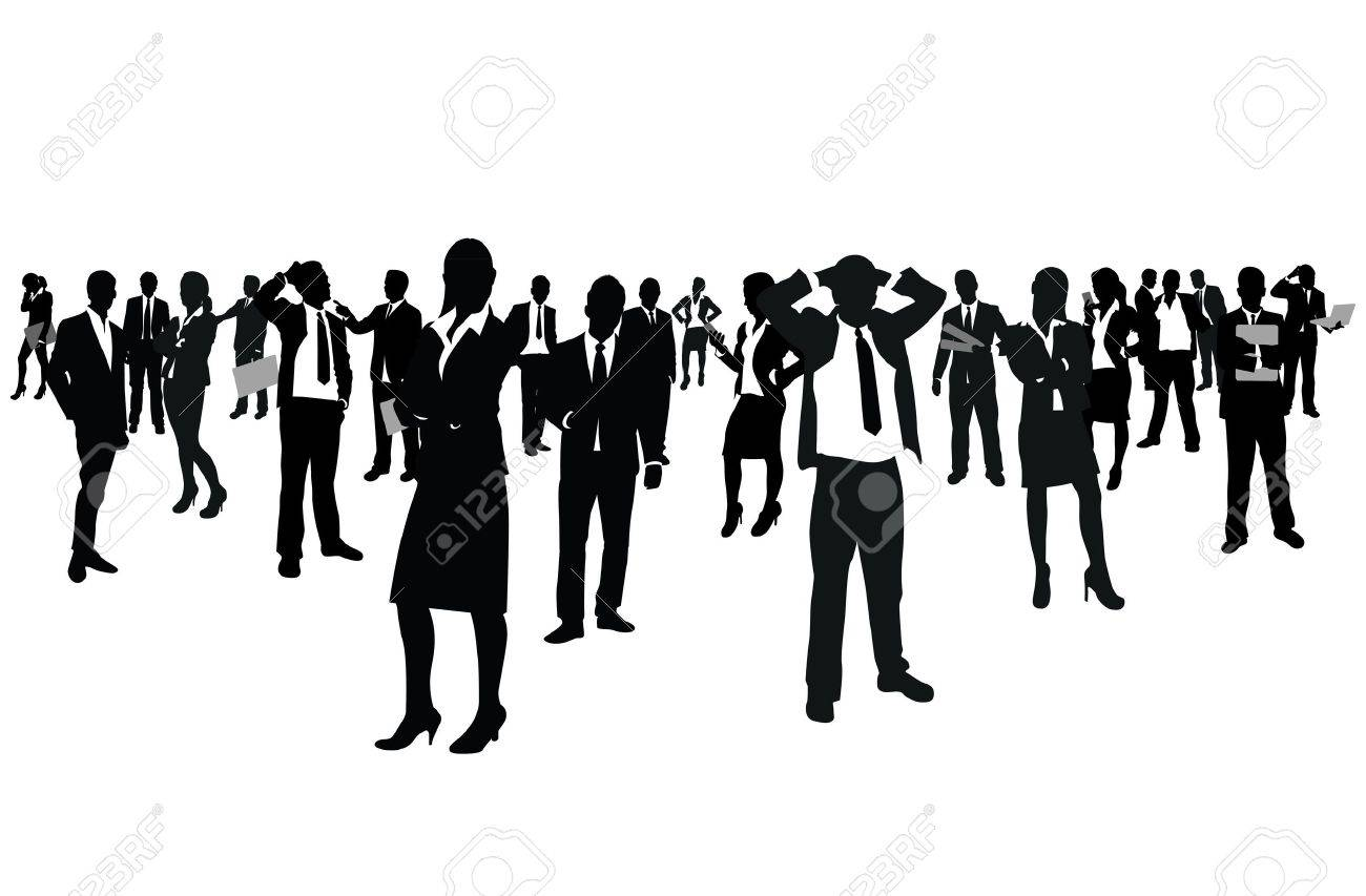 business people group Stock Vector - 11063407