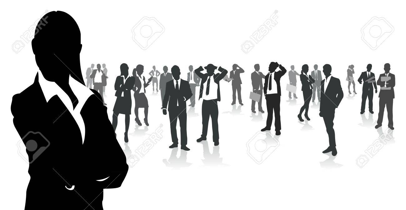 business people group Stock Vector - 11063408