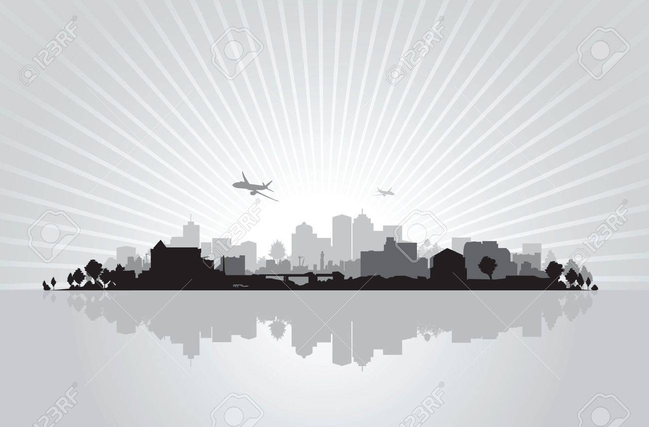 cityscape background Stock Vector - 11178335