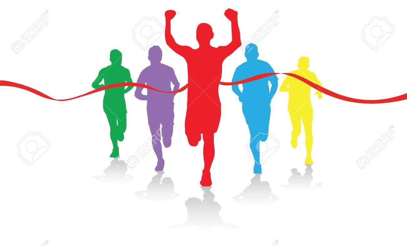 Running Finish Line Clipart Finish Line Running