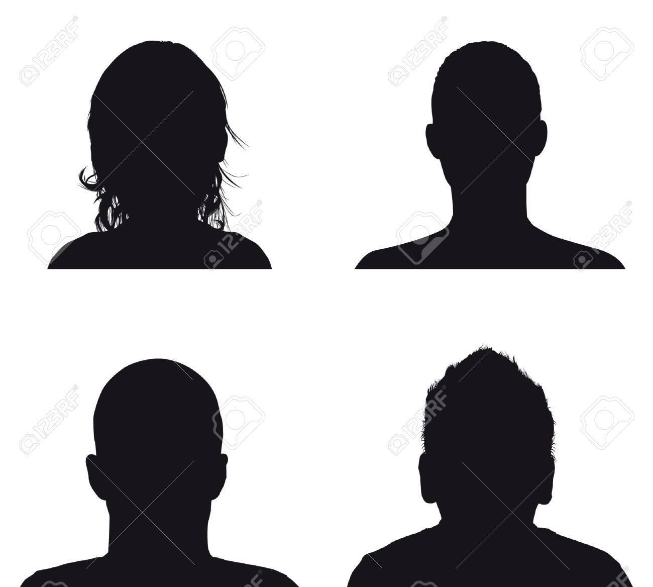 people profile silhoue...