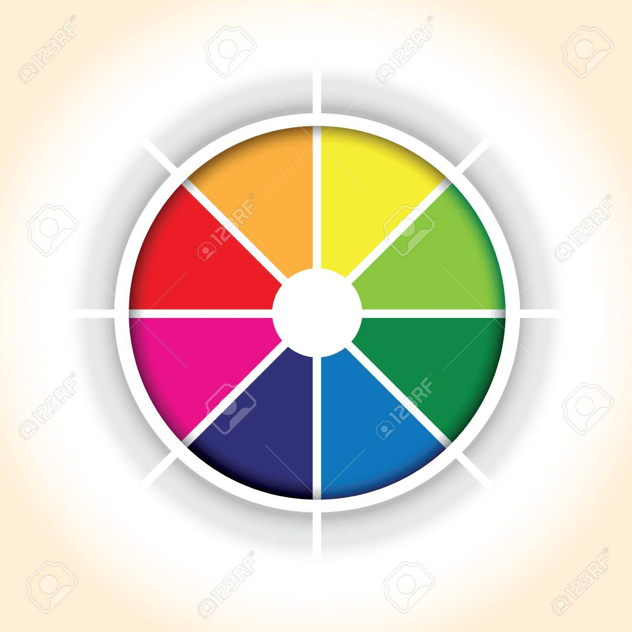 A circle colourful pie chart segment background royalty free a circle colourful pie chart segment background stock vector 21458309 ccuart Images