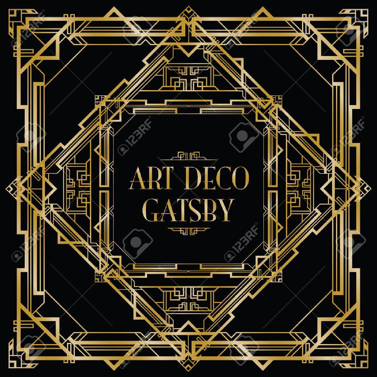 Gatsby art deco background royalty free cliparts vectors and gatsby art deco background stock vector 30730279 voltagebd Images