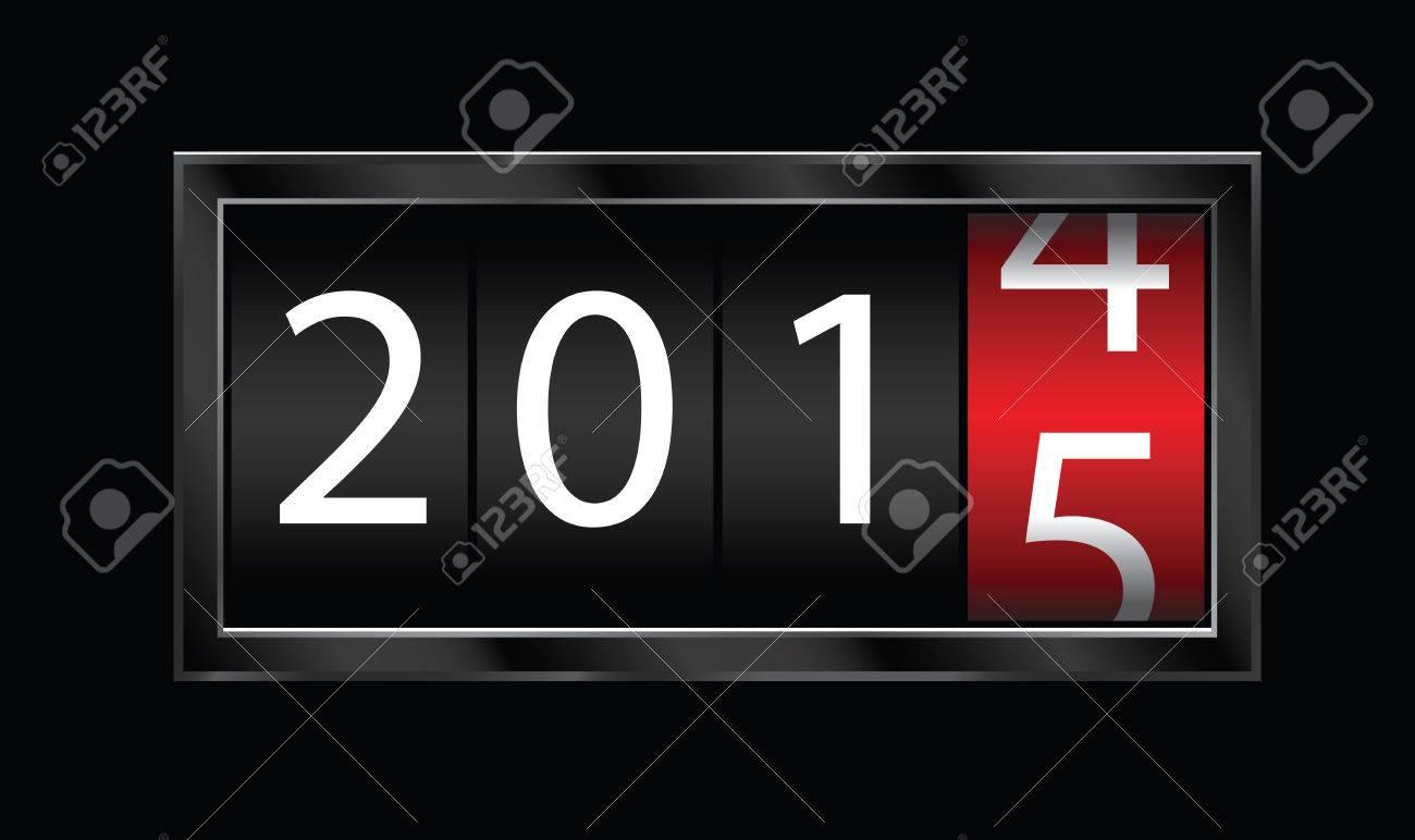 2015 new year Stock Vector - 30903736