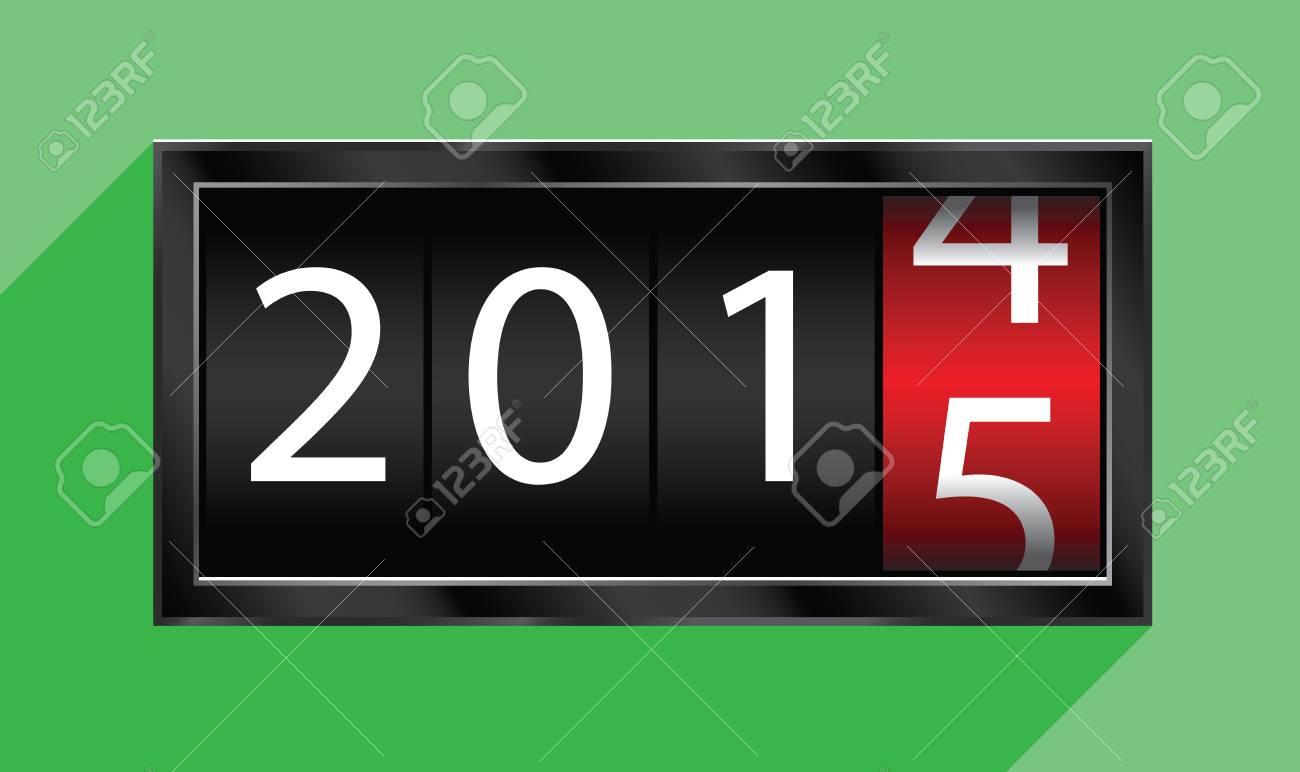 2015 new year Stock Vector - 30903752