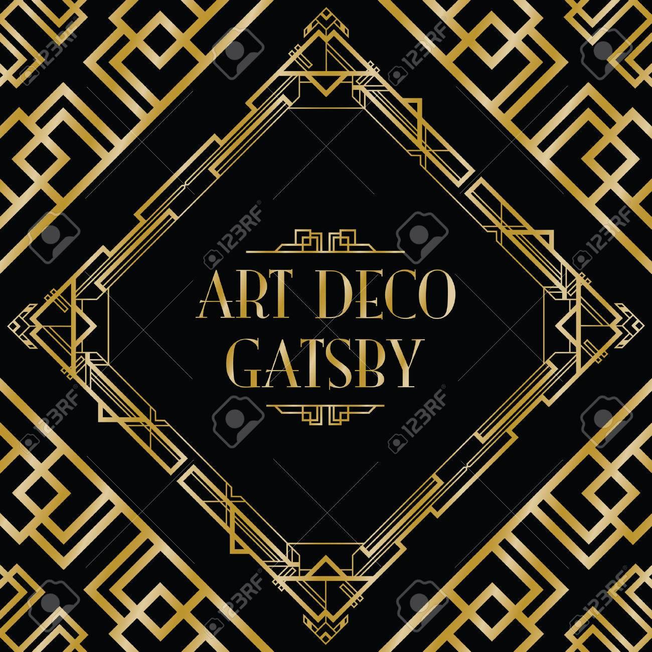 Art deco gatsby style background art deco gatsby style background 32359001 voltagebd Images