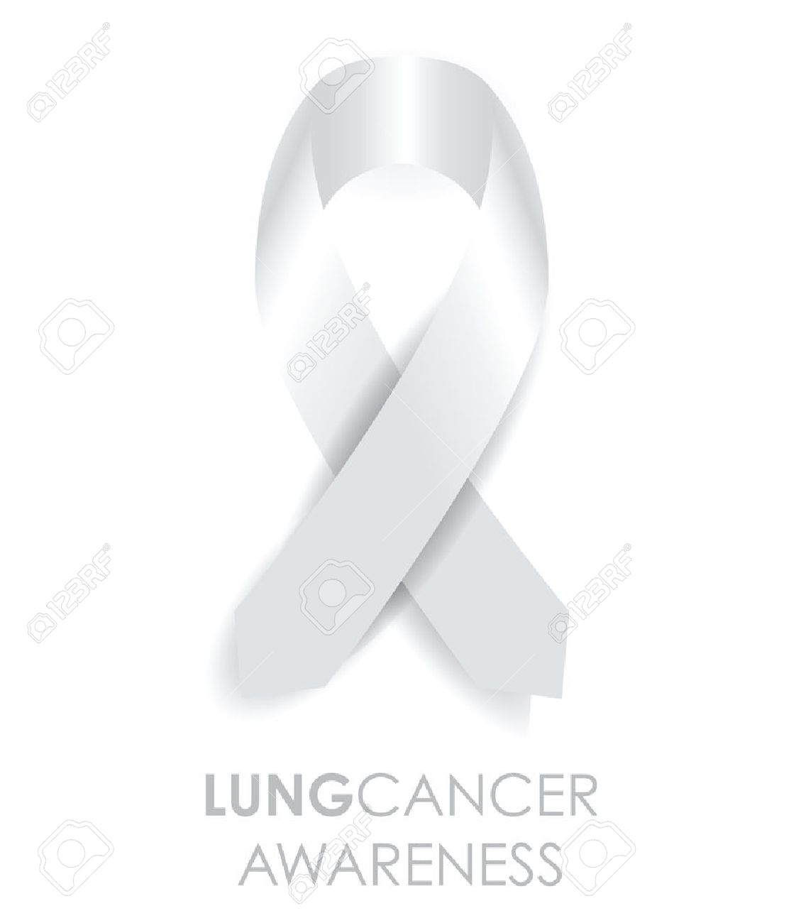 lung cancer ribbon Banque d'images - 32548247