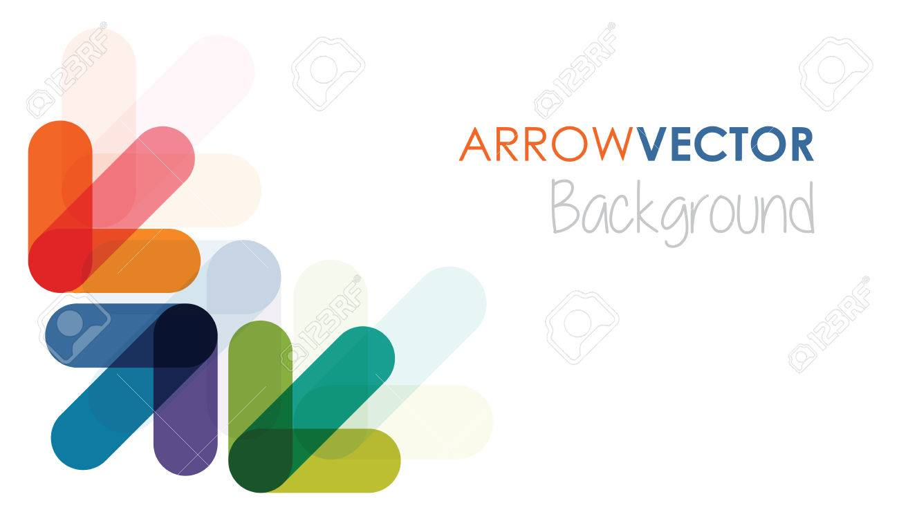 abstract arrow background - 35031925