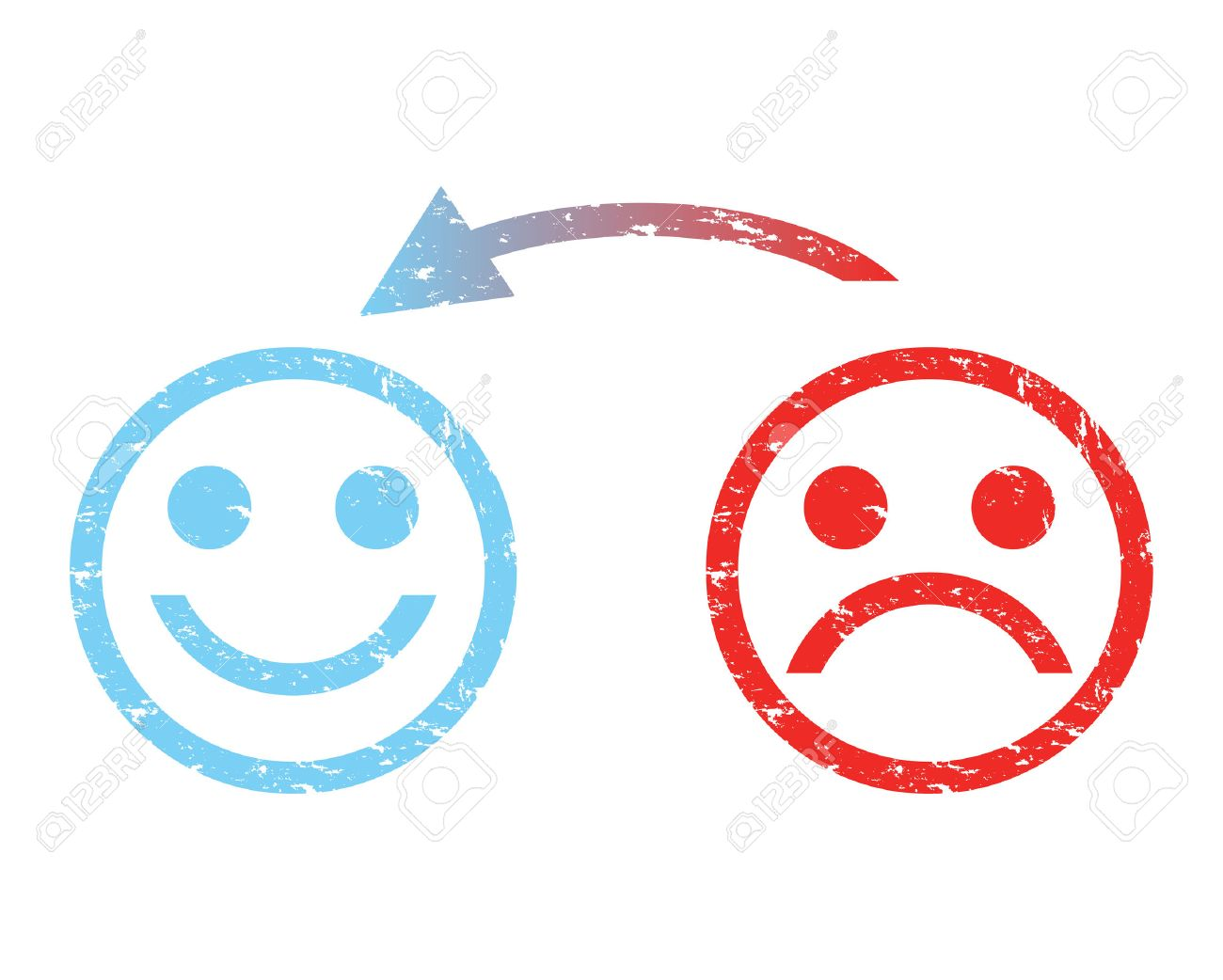 sad face to a happy face - 35523510