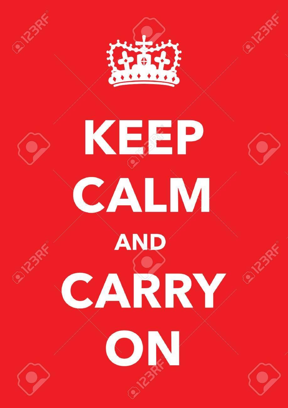 keep calm poster - 35523943