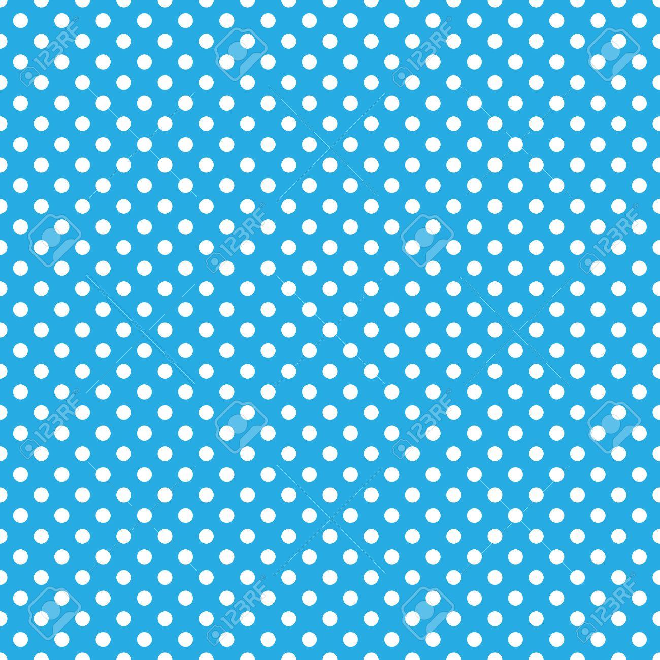 Seamless Blue Polka Dot Background Royalty Free Cliparts Vectors