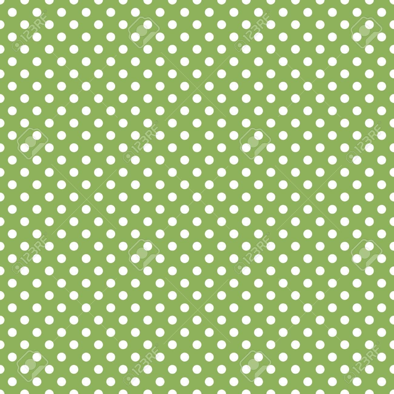 Seamless Green Polka Dot Background Royalty Free Cliparts Vectors