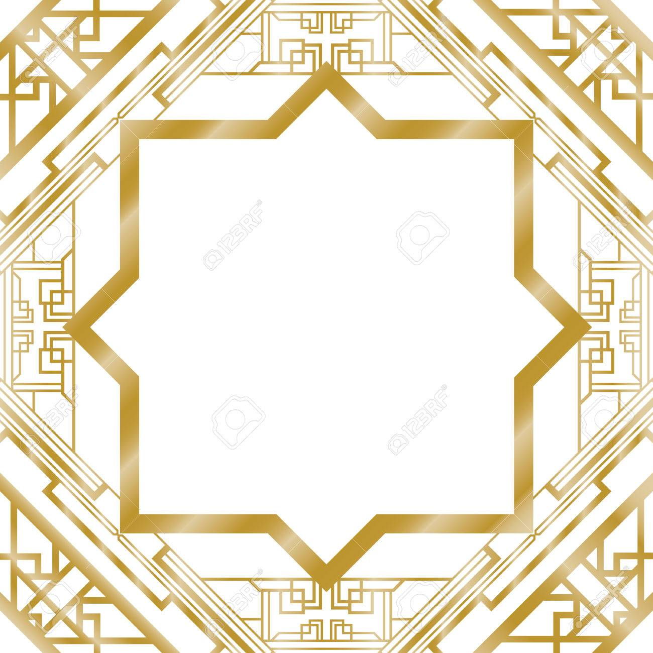 art deco abstract background - 39586608