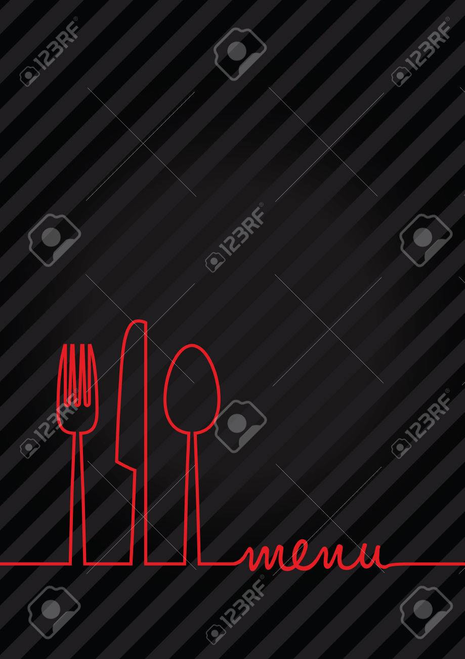 abstract food menu background - 45028864