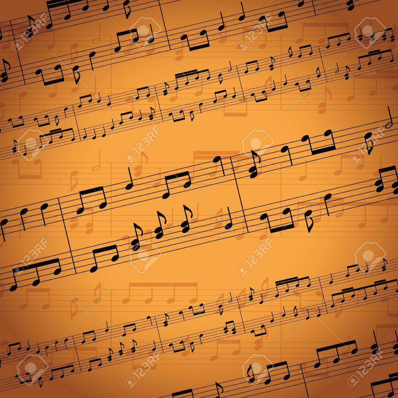 music notes background - 50440927