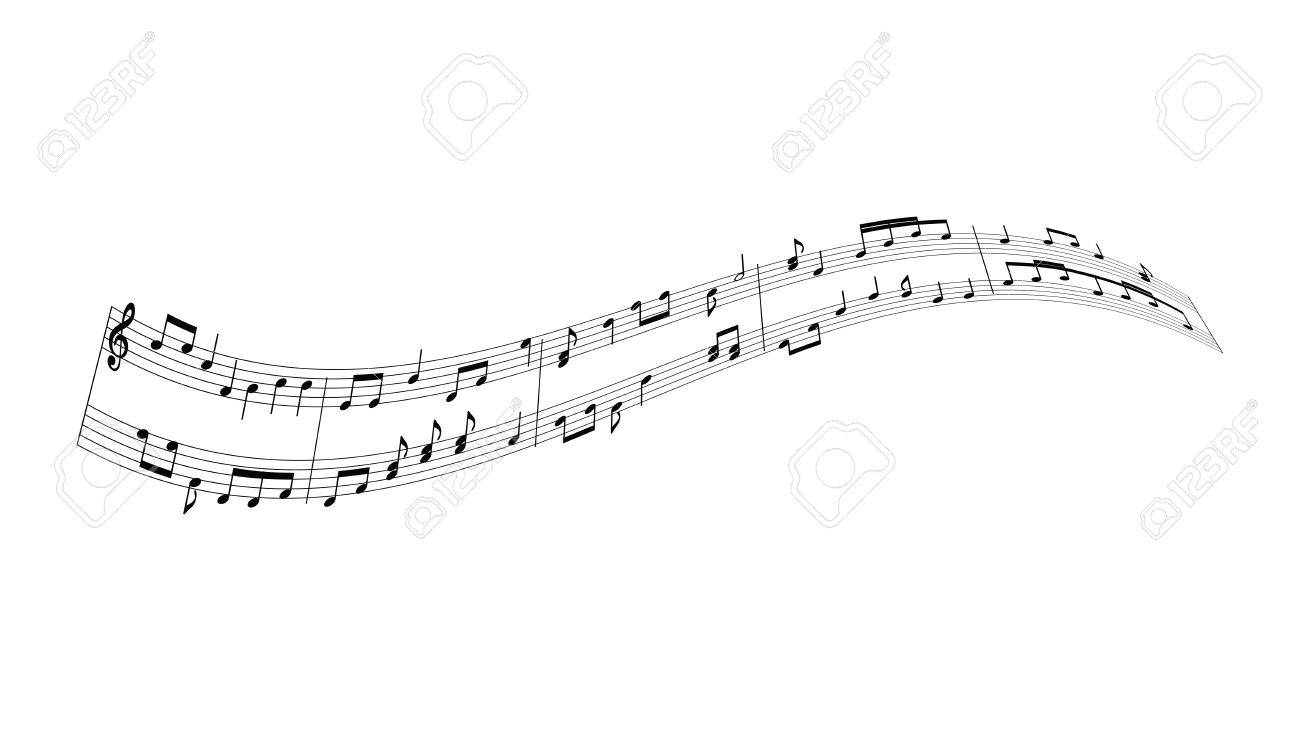 music notes background - 50440930