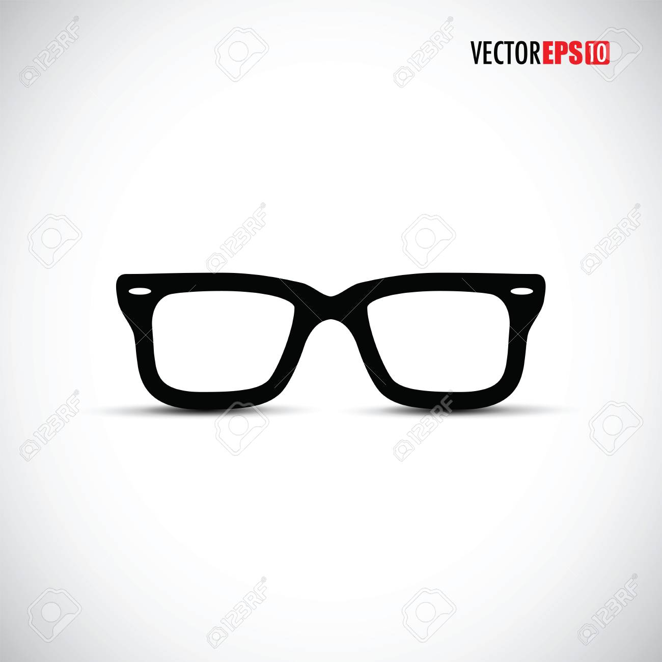 b21bfe9ed3 Black glasses frames royalty free cliparts vectors and stock jpg 1300x1300 Glasses  frames vector