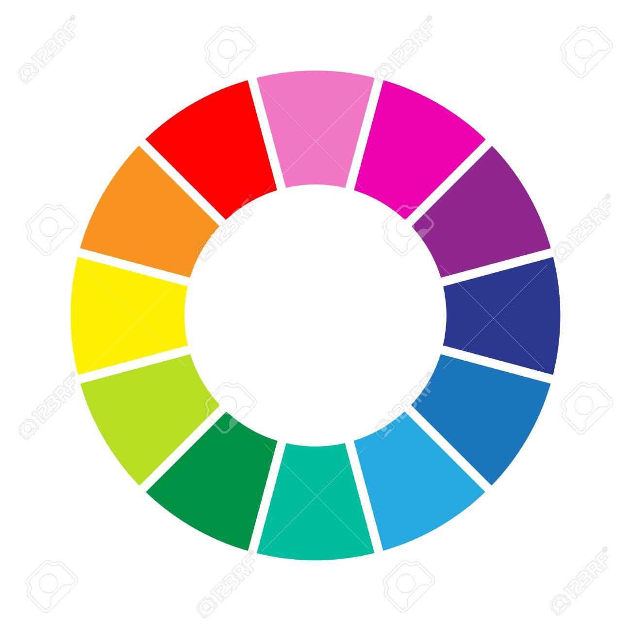 Colour wheel - 131680816