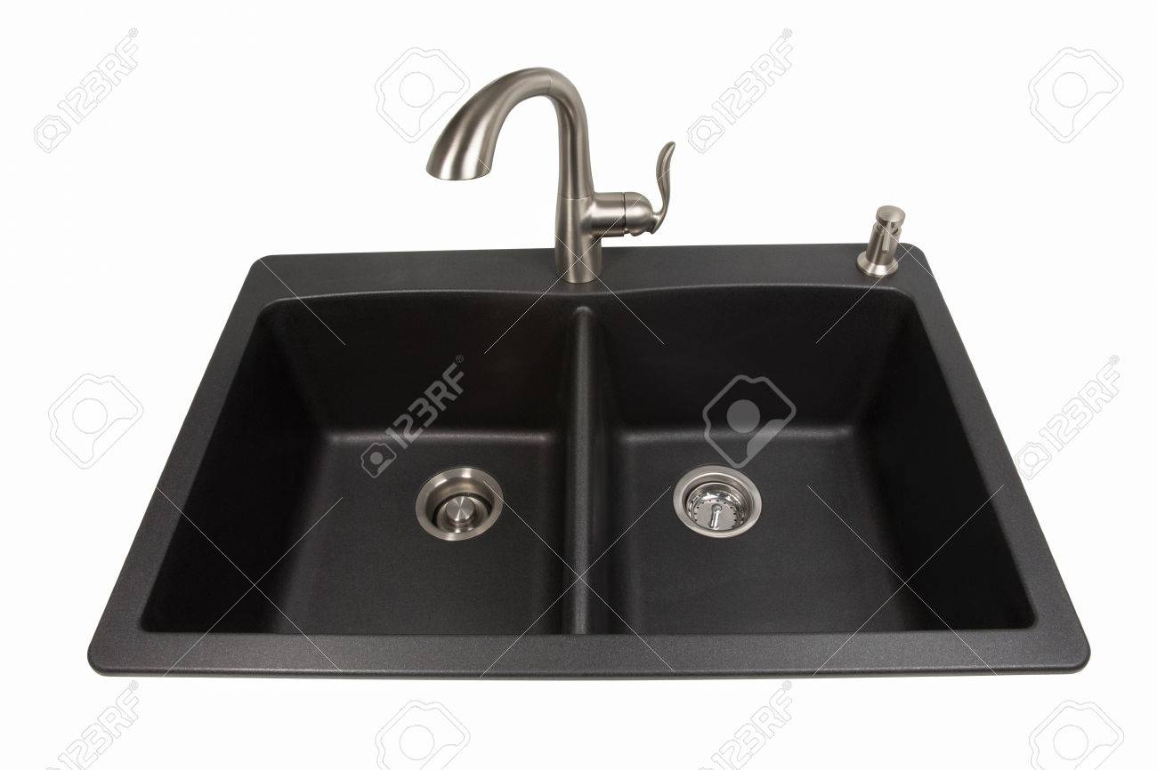 contemporary kitchen soap dispenser amazon modern kitchen sink made of black synthetic granite with brushed stainless steel faucet and soap dispenser kitchen sink made of black synthetic granite with brushed