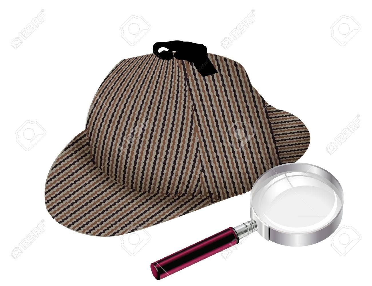 detektiv-HUT UND GLAS