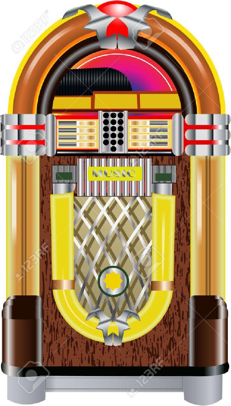 jukebox Stock Vector - 27666226