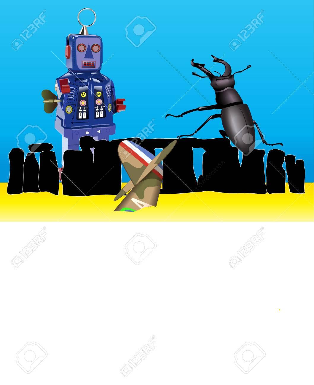 世界の終わりのイラスト素材ベクタ Image 27666372