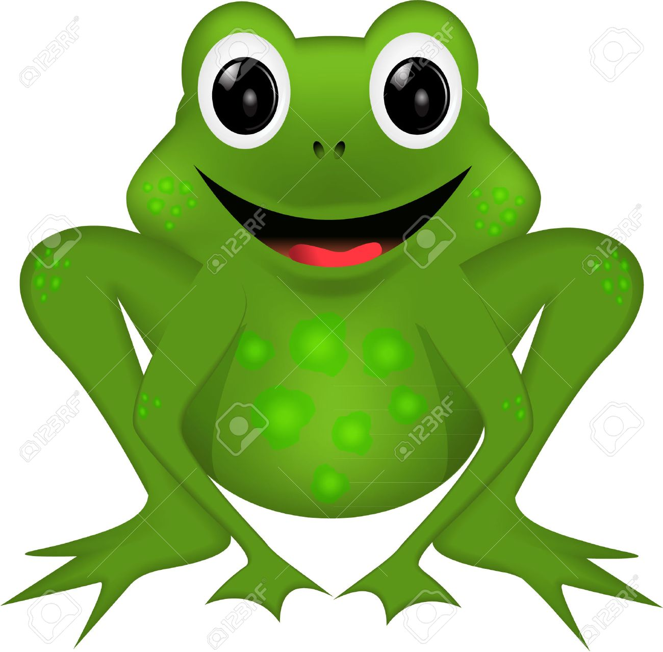 Funny Frog Royalty Free Cliparts Vectors And Stock Illustration Image 27699807