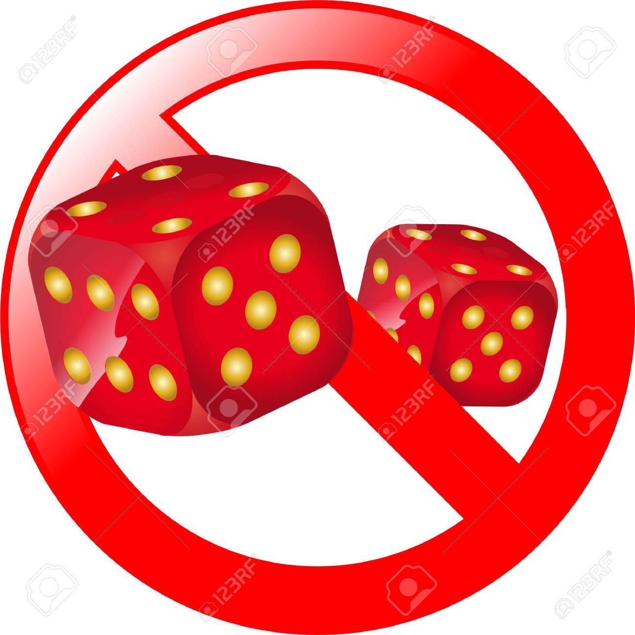 Gambling/craps Royalty Free Vector Clip Art Illustration - Gambling Clipart  - Free Transparent PNG Clipart Images Download