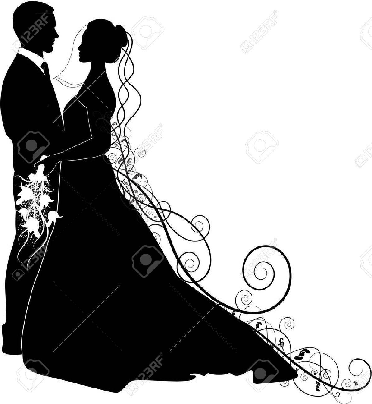 слой ткани свадебный танец в векторных кривых термобелья