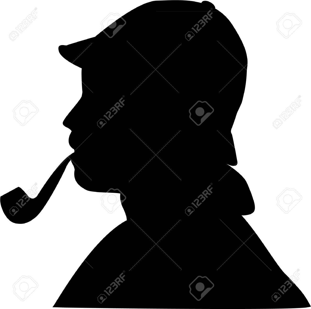 シャーロックホームズのイラスト素材ベクタ Image 28113120
