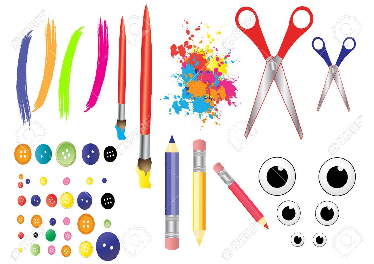 Craft Tools Royalty Free Cliparts Vectors And Stock Illustration