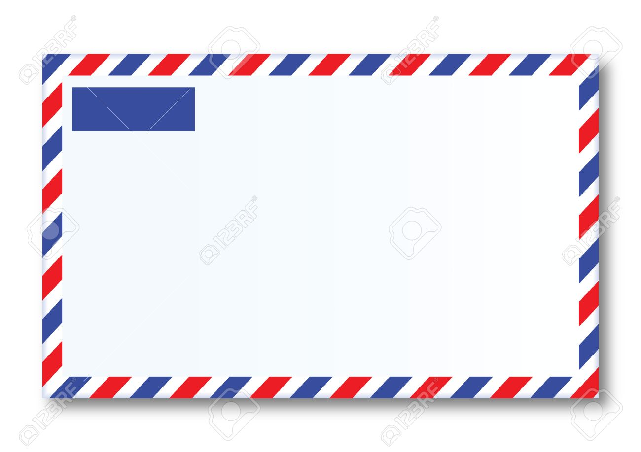 Airmail Letter Royalty Free Cliparts Vectors And Stock