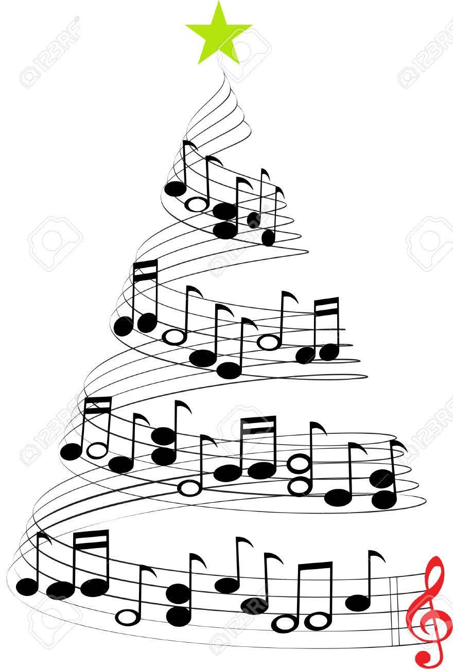 CHRISTMAS MUSIC TREE - 53413781