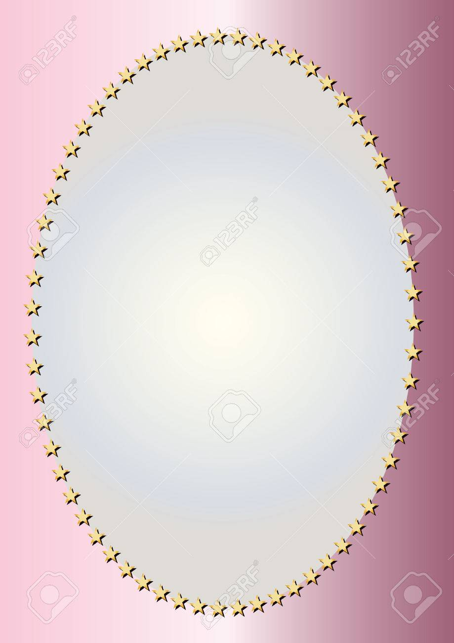 Gold Oval Frame Royalty Free Cliparts, Vectors, And Stock ...