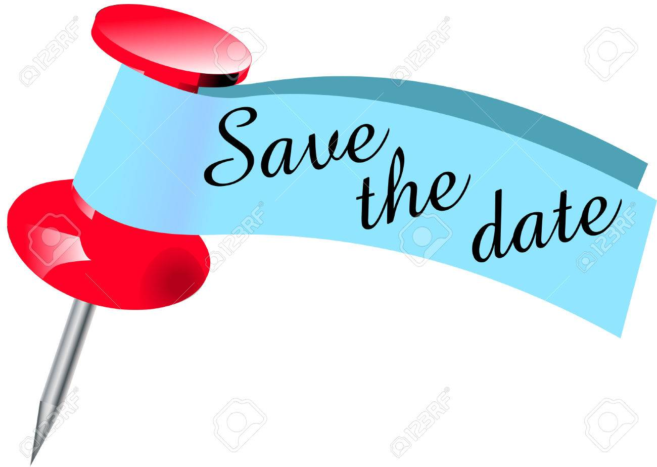 save the date pin royalty free cliparts vectors and stock rh 123rf com save the date clipart free download